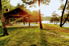 Sunset at Rosebay Park Pavilion- Olivette