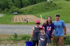 Community Planting at the Farm
