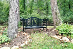 Memorial Bench at Azalea Island