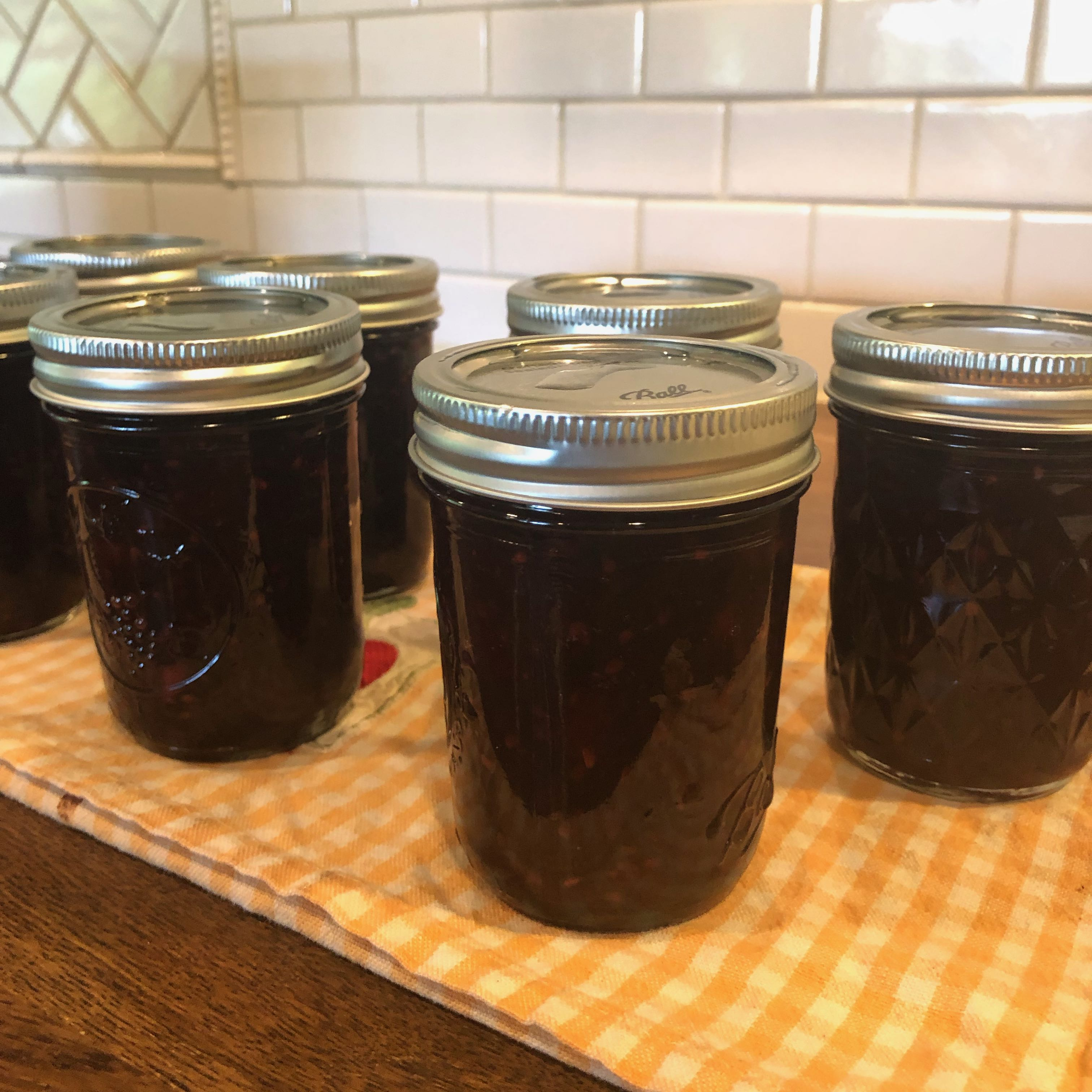 Jalapeno Lime Blackberry Jam